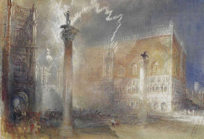 Joseph Mallord William Turner. Piazzetta, Venice