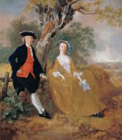 Томас Гейнсборо. Пара на фоне пейзажа