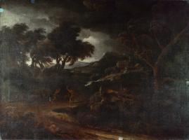 Дугхет Гаспар. Пейзаж с бурей