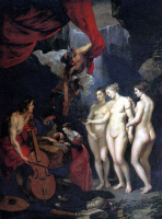 Питер Пауль Рубенс. Воспитание Марии Медичи