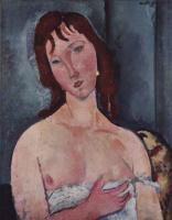 Амедео Модильяни. Молодая женщина