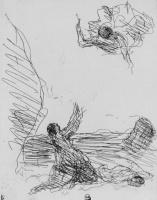Камиль Коро. Агарь и ангел