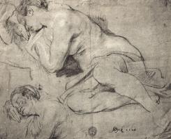 Антонис ван Дейк. Зарисовки спящей женщины