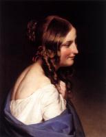 Фридрих фон Амерлинг. Девушка. 1837