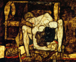 Egon Schiele. Blind mother