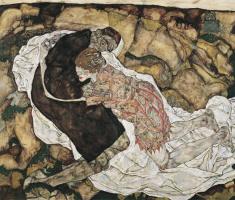 Эгон Шиле. Смерть и девушка