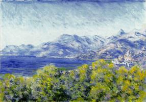 Claude Monet. Views Ventimiglia