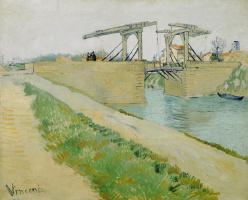 Vincent van Gogh. The Langlois Bridge