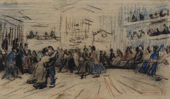 Винсент Ван Гог. Танцевальный зал