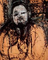 Амедео Модильяни. Портрет Диего Риверы. Эскиз