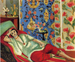 Henri Matisse. Odalisque in red pants