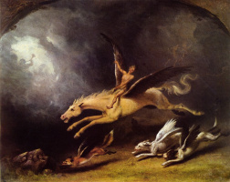 Уильям Холбрук Берд. Сон охотника на лис