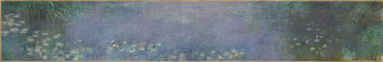 Claude Monet. Water lilies: morning