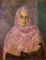 Роберт Рафаилович Фальк. В розовой шали (А.В.Щекин-Кротова)