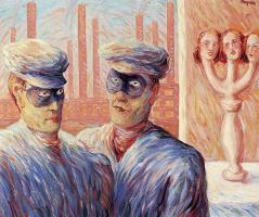 Rene Magritte. Intelligence