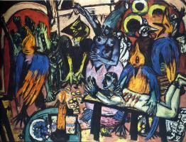 Max Beckmann. Bird hell