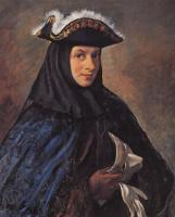 Зинаида Евгеньевна Серебрякова. Александр Серебряков в карнавальном костюме