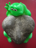 "Алексей Гришанков (Alegri). ""Frog with a big heart"" (""Frog with big heart"""