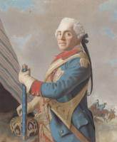 Jean-Etienne Lyotard. Portret van Moritz, Graf von Sachsen