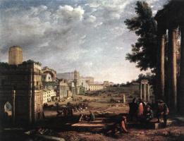 Клод Лоррен. Кампо Вацино в Риме