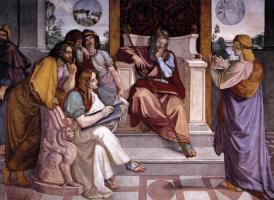 Петер фон Корнелиус. Иосиф толкует сон фараона