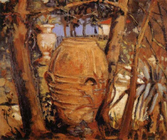 Grant Wood. Urn
