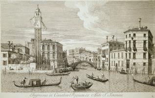 Антонио Визентини. Вид церкви Сан Джеремия