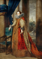 Антонис ван Дейк. Портрет генуэзской дамы, возможно, маркизы Джеронимы Спинолы-Дориа