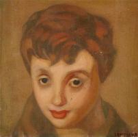 Тамара Лемпицка. Портрет Франсуазы Саган