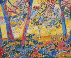 Maurice de Vlaminck. The undergrowth