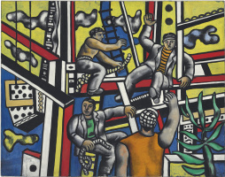 Fernand Leger. Builgers (Builders with Aloe)
