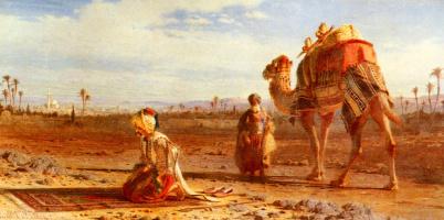 Карл Хааг. Молитва