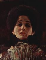 Густав Климт. Женский портрет анфас