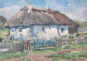 David Pilko. Hut in the Poltava region