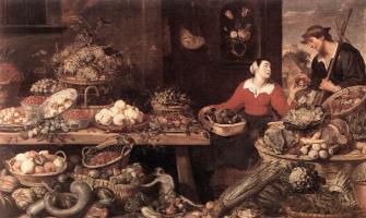 Франс Снейдерс. Фрукты и овощи