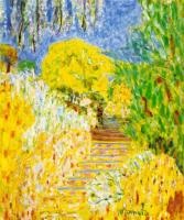 Пьер Боннар. Лестница в саду