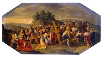 Иероним Франкен II. Несение креста