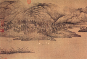 Дун Юань. Пейзаж 157