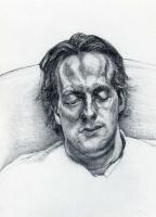Люсьен Фрейд. Спящий парень
