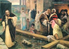 Вильгельм Александрович Котарбинский. Сооружение креста