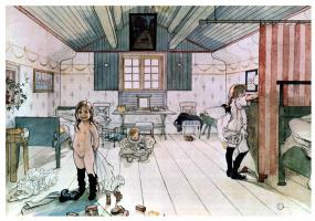 Комната маленьких девочек