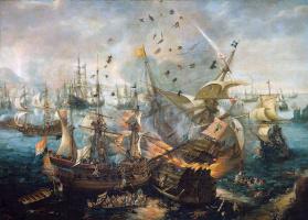 Корнелис Клас ван Виринген. Морское сражение