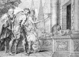 Тхулден,  Тхеодур  Ван Тхулн. Одиссей признан своей собакой