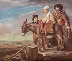 Антуан, Луи и Матье Ленен. Семейство молочницы