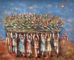 Alexander Grigoryevich Tyshler. Harvest festival