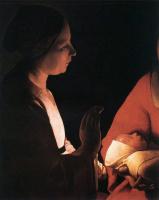 Жорж де Латур. Младенец
