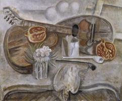 Андре Массон. Круглый столик в студии