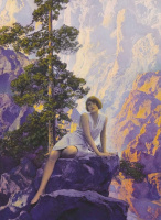 Maxfield Parrish. Loneliness