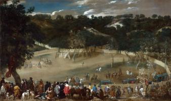 Диего Веласкес. Филипп IV охотится на кабанов