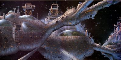 Тим Уайт. Космический город-комплекс